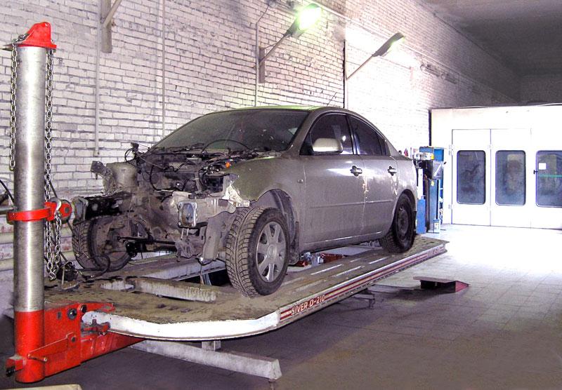 стапельный кузовной ремонт